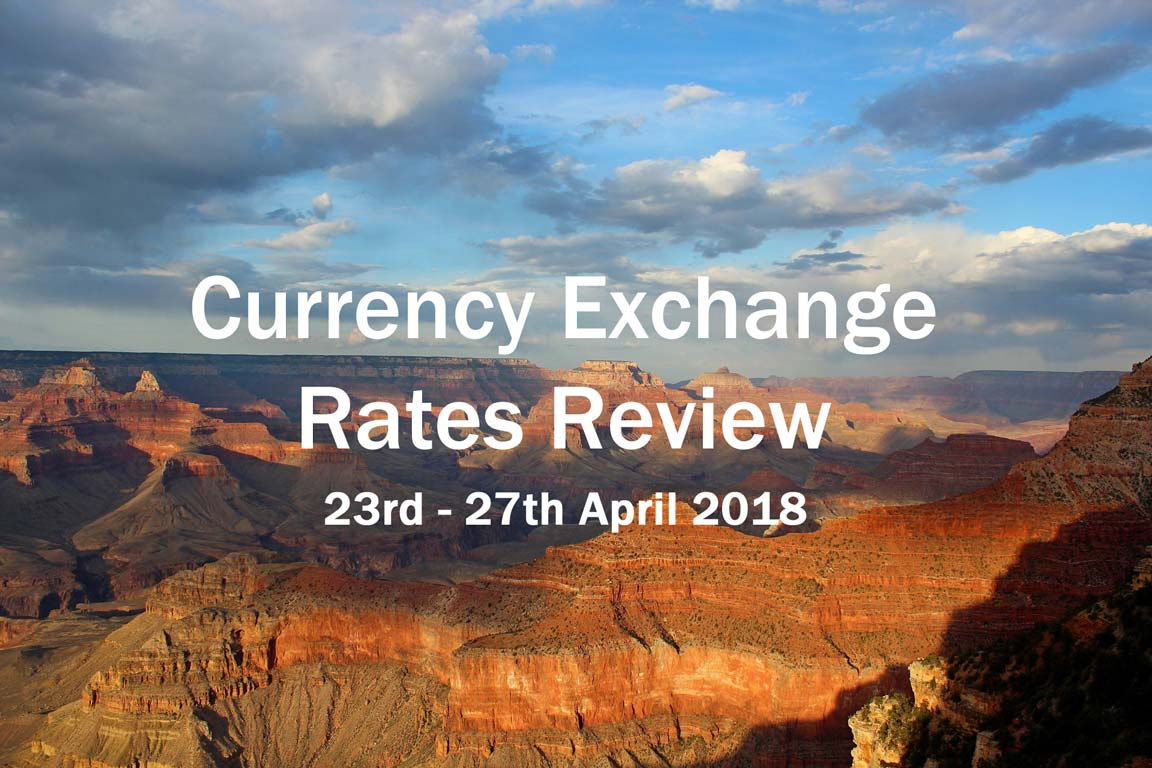 Currency Exchange Rate Review – Week of 23-04-2018